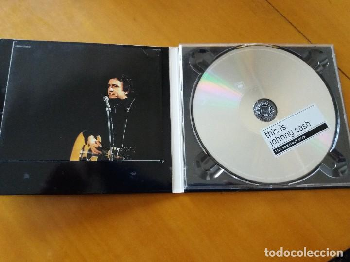 CDs de Música: This is Johnny Cash. Grandes éxitos. Greatest hits. CD. DIGIPACK. Sony Music - Foto 2 - 183869941