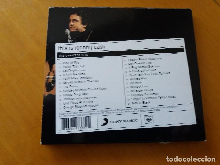 CDs de Música: This is Johnny Cash. Grandes éxitos. Greatest hits. CD. DIGIPACK. Sony Music - Foto 3 - 183869941