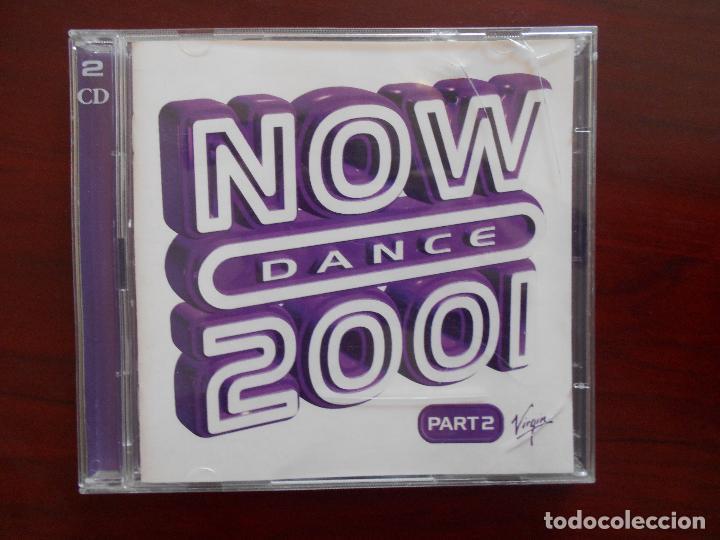 CD NOW DANCE 2001 PART 2 (2 CD) (3D) (Música - CD's Disco y Dance)