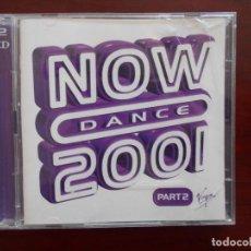 CDs de Música: CD NOW DANCE 2001 PART 2 (2 CD) (3D). Lote 96835699