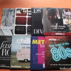 CDs de Música: VARIOS - EVENING STANDARD METRO LIFE & HITS LOTE 8CDS UK . Lote 96835975