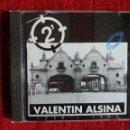 CDs de Música: VALENTÍN ALSINA +2 MINUTOS+ ROCK ARGENTINO. Lote 96871499