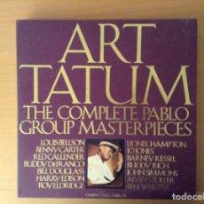 CDs de Música: ART TATUM THE COMPLETE PABLO GROUP MASTERPIECES. Lote 96908987