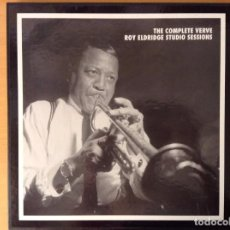 CDs de Música: THE COMPLETE VERVE ROY ELDRIDGE STUDIO SESSIONS. Lote 96909235