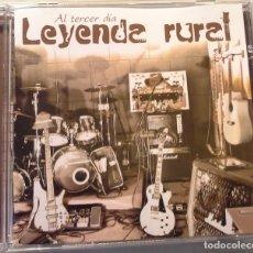 CDs de Música: LEYENDA RURAL - AL TERCER DÍA - CD. Lote 96927903