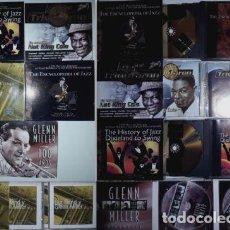 CDs de Música: LOTE 6 CDS: 2 DE GLEN MILLER / NAT KING COLE / 2 DE JAZZ. Lote 96928807