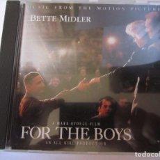 CDs de Música: CD BANDA SONORA FOR THE BOYS BETTE MIDLER. Lote 96942483