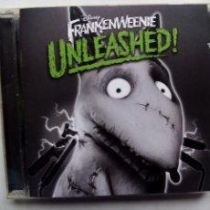 CDs de Música: FRANKENWEENIE UNLEASHED. MUSIC FROM FILM BY TIM BURTON. WALT DISNEY RECORDS 2012.. Lote 96991979