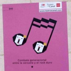 CDs de Música: AMADEU. MÚSICA DE AMADEO VIVES. UN MUSICAL DE ALBERT BOADELLA. DVD DE LA OBRA.. Lote 96830631