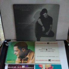 CDs de Música: ALEJANDRO SANZ 4 CDS PROMOCIONALES +ALFOMBRILLA RATÓN DE ORDENADOR. Lote 178737305