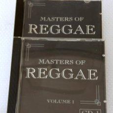CDs de Música: 2 CD. MASTERS OF REGGAE. Lote 97114023
