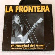 CDs de Música: CD LA FRONTERA CON ANDRES CALAMARO. SINGLE. EL HOSPITAL DEL AMOR. Lote 97114311