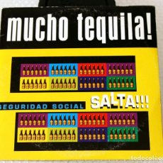 CDs de Música: CD SEGURIDAD SOCIAL. SINGLE MUCHO TEQUILA. SALTA.. Lote 97115099