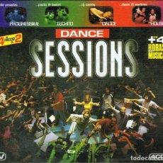 CDs de Música: CD DANCE SESSIONS ( 3 CD´S). Lote 97125911
