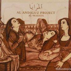 CDs de Música: AL ANDALUZ PROJECT. AL-MARAYA. CD DIGIPACK CON LIBRETO. Lote 97228015