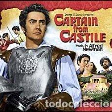 CDs de Música: CAPITÁN DE CASTILLA - CAPTAIN FROM CASTILE (2 CDS) (ALFRED NEWMAN). Lote 97233271
