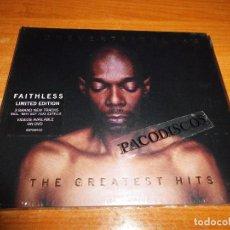 CDs de Música: FAITHLESS FOREVER GREATEST HITS CD ALBUM DIGIPACK PRECINTADO 2005 EU CONTIENE 16 TEMAS. Lote 97244703