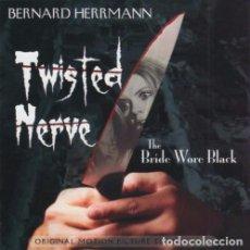 CDs de Música: TWISTED NERVE + THE BRIDE WORE BLACK / BERNARD HERRMANN CD BSO - KRITZERLAND. Lote 97247955