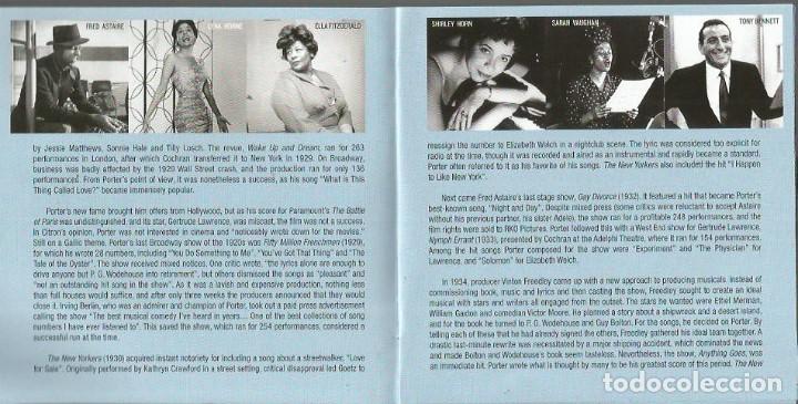 CDs de Música: CD TRIPLE JAZZ VOCALISTS SINGS COLE PORTER ( FRANK SINATRA, LOUIS ARMSTRONG, BILLIE HOLIDAY, ETC - Foto 5 - 97294275