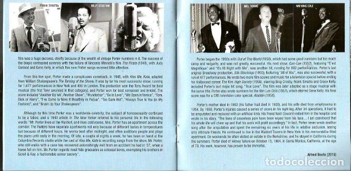 CDs de Música: CD TRIPLE JAZZ VOCALISTS SINGS COLE PORTER ( FRANK SINATRA, LOUIS ARMSTRONG, BILLIE HOLIDAY, ETC - Foto 6 - 97294275