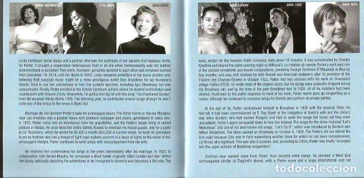 CDs de Música: CD TRIPLE JAZZ VOCALISTS SINGS COLE PORTER ( FRANK SINATRA, LOUIS ARMSTRONG, BILLIE HOLIDAY, ETC - Foto 7 - 97294275