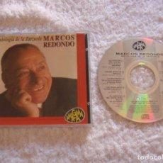 CDs de Música: CD - ANTOLOGIA DE LA ZARZUELA - MARCOS REDONDO. Lote 97311151