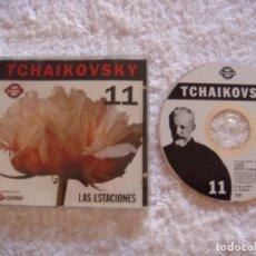 CDs de Música: CD - TCHAIKOVSKI - LAS ESTACIONES - VOLUMEN 11. Lote 97324339