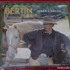 CDs de Música: MUSICA GOYO - CD ALBUM - BERTIN OSBORNE - SABOR A MEXICO - *AA98. Lote 97339411