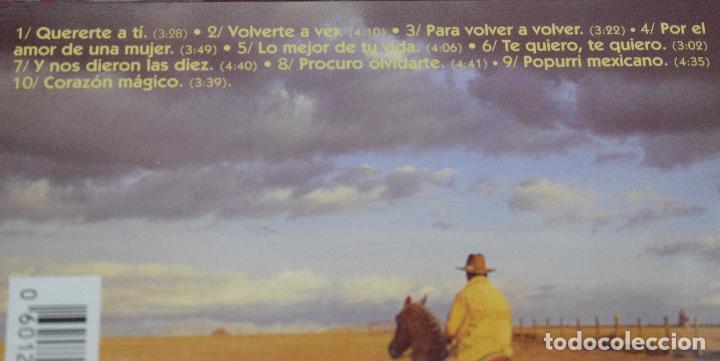 CDs de Música: MUSICA GOYO - CD ALBUM - BERTIN OSBORNE - SABOR A MEXICO - *AA98 - Foto 3 - 97339411