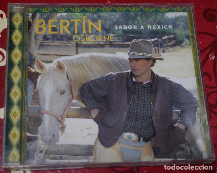 CDs de Música: MUSICA GOYO - CD ALBUM - BERTIN OSBORNE - SABOR A MEXICO - *AA98 - Foto 4 - 97339411