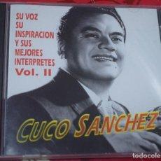 CDs de Música: MUSICA GOYO - CD ALBUM - CUCO SANCHEZ - SU VOZ INSPIRACION Y MEJORES INTERPRETES - RARISIMO - *UU99. Lote 97339447