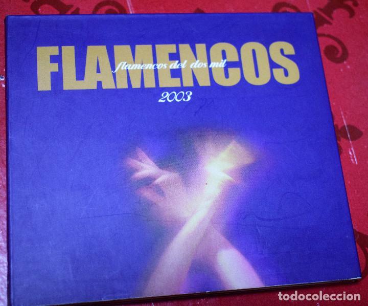 MUSICA GOYO - CD ALBUM - FLAMENCOS 2003 - DOBLE - 30 CANCIONES - RARO - *AA98 (Música - CD's Flamenco, Canción española y Cuplé)