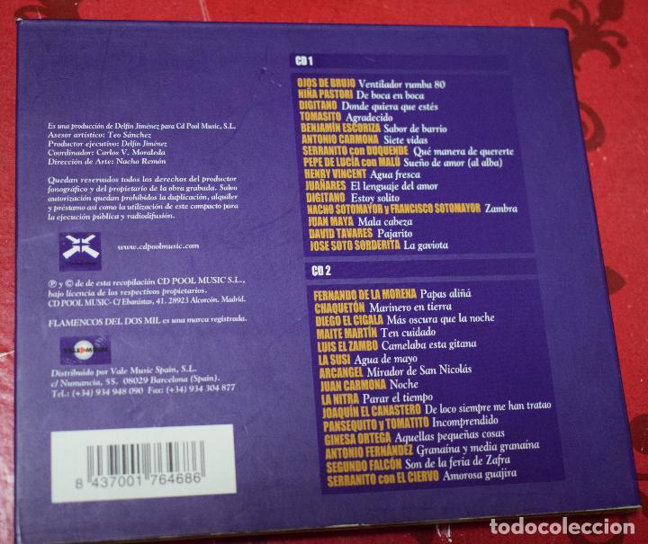 CDs de Música: MUSICA GOYO - CD ALBUM - FLAMENCOS 2003 - DOBLE - 30 CANCIONES - RARO - *AA98 - Foto 2 - 97350335