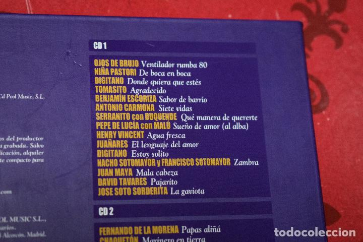 CDs de Música: MUSICA GOYO - CD ALBUM - FLAMENCOS 2003 - DOBLE - 30 CANCIONES - RARO - *AA98 - Foto 3 - 97350335