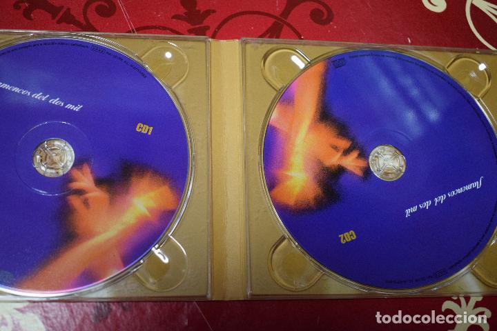 CDs de Música: MUSICA GOYO - CD ALBUM - FLAMENCOS 2003 - DOBLE - 30 CANCIONES - RARO - *AA98 - Foto 4 - 97350335