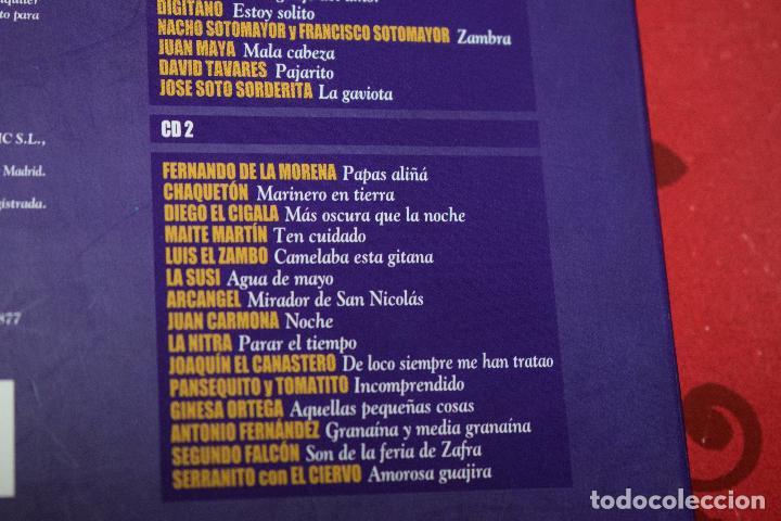 CDs de Música: MUSICA GOYO - CD ALBUM - FLAMENCOS 2003 - DOBLE - 30 CANCIONES - RARO - *AA98 - Foto 5 - 97350335