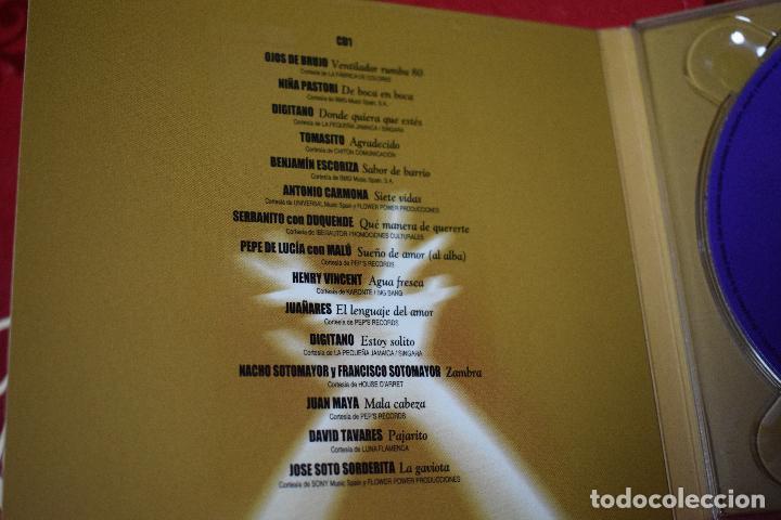 CDs de Música: MUSICA GOYO - CD ALBUM - FLAMENCOS 2003 - DOBLE - 30 CANCIONES - RARO - *AA98 - Foto 7 - 97350335