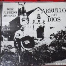 CDs de Música: MUSICA GOYO - CD ALBUM - JOSE ALFREDO JIMENEZ - ARRULLO DE DIOS - RARISIMO - *UU99. Lote 97356603