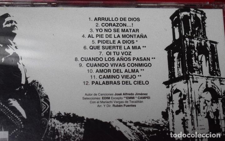 CDs de Música: MUSICA GOYO - CD ALBUM - JOSE ALFREDO JIMENEZ - ARRULLO DE DIOS - RARISIMO - *UU99 - Foto 3 - 97356603