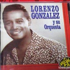 CDs de Música: MUSICA GOYO - CD ALBUM - LORENZO GONZALEZ - Y SU ORQUESTA - RARISIMO - *UU99. Lote 97356823