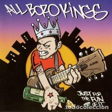 CDs de Música: ALL BORO KINGS --- JUST FOR THE FUN OF IT --METAL CORE HARD CORE. Lote 97356867