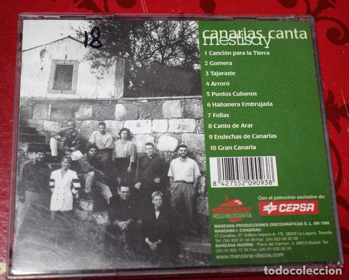 CDs de Música: MUSICA GOYO - CD ALBUM - MESTISAY - CANARIAS CANTA - - RARO - *AA98 - Foto 2 - 97361939