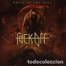 CDs de Música: FUCK OFF --- SMILE AS YOU KILL -THRASH METAL SPEED. Lote 97374223