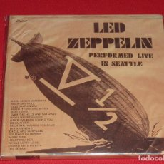 CDs de Música: LED ZEPPELIN PERFORMED LIVE IN SEATTLE TRIPLE CD. Lote 97396343