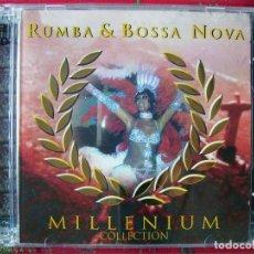 CDs de Música: RUMBA & BOSSA NOVA.ASTRUD GILBERTO-JOAO GILBERTO-MARIA CREUZA-BADEN POWELL Y OTROS...DOBLE CD. Lote 97462763