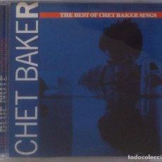 CDs de Música: CHET BAKET - THE BEST OF CHET BAKER SINGS - CD 1997 THE BLUE NOTE COLLECTION. Lote 97479027