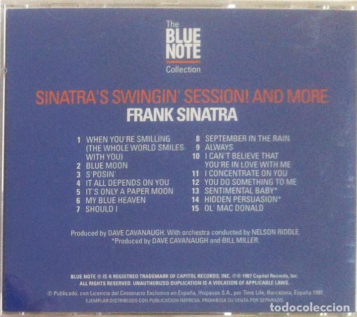 CDs de Música: Frank Sinatra - Sinatras Swingin session !!! and more - CD 1997 The Blue Note Collection - Foto 2 - 97479135