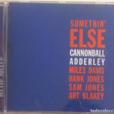 CDs de Música: CANNONBALL ADDERLEY - SOMETHIN' ELSE - CD 1997 THE BLUE NOTE COLLECTION. Lote 97479191