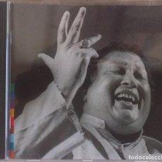 CDs de Música: NUSRAT FATEH ALI KHAN - QAWWAL AND PARTY - SHAHEM SHAH - CD 1989 REAL WORLD/VIRGIN. Lote 97479399