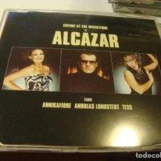 CDs de Música: RAR MAXI CD. ALCAZAR. CRYING AT THE DISCOTEQUE. ANNIKAFIORE. MADE IN SPAIN. Lote 97479935
